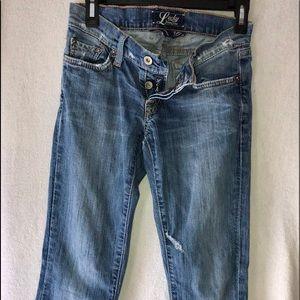 Lucky brand flare leg jeans